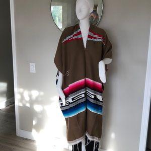 Sweaters - Vintage Serape poncho